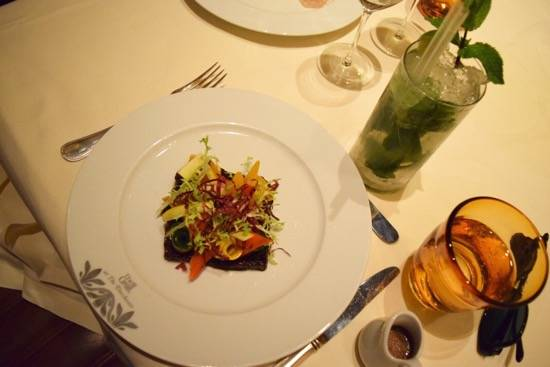 Grilled Vegetable Salad and Confit Red Onion, Balsamic DressingGrilled ...